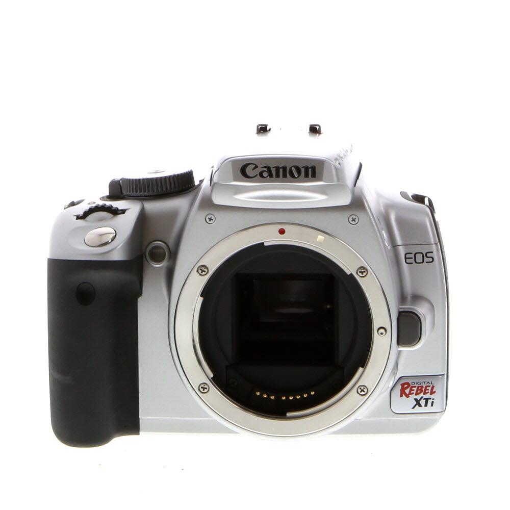 Canon EOS Rebel XS Silver Digital SLR Camera Body {10 M/P