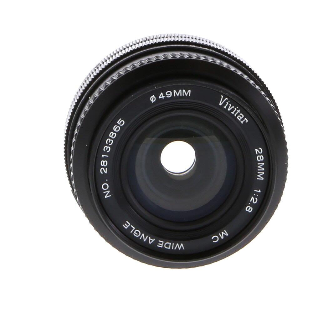 Vivitar 28mm F/2.8 Macro Lens For Canon Manual Focus {49}