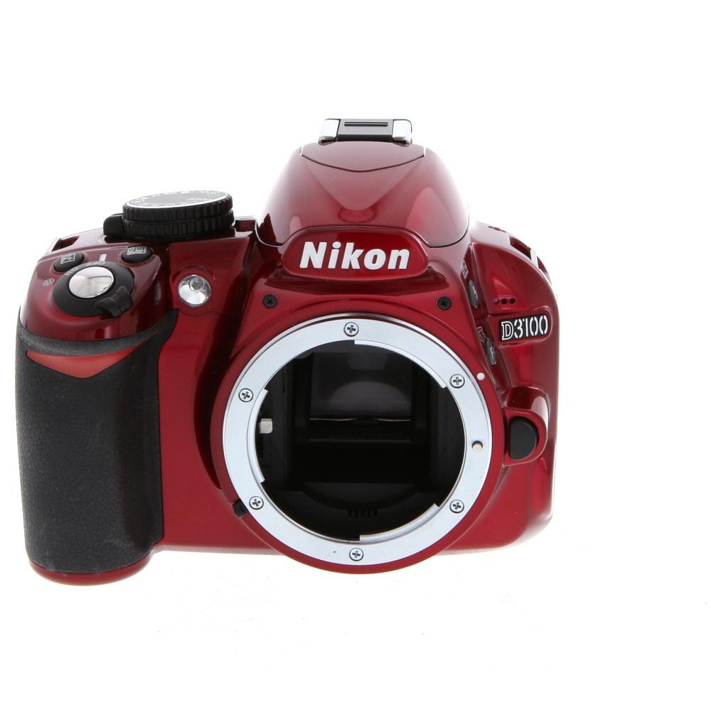 Nikon D3200 Digital SLR Camera Body, Red {24 2 M/P} at KEH Camera