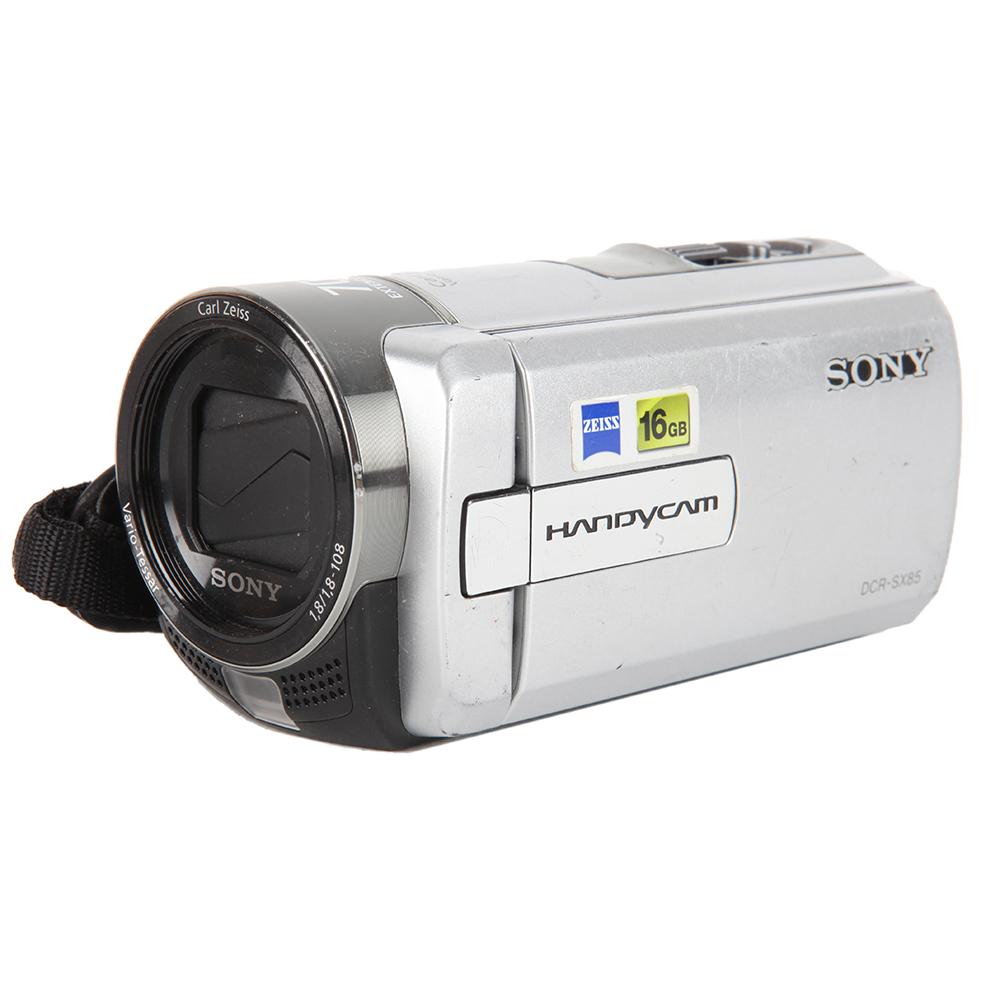 Sony DCR-SX85 Silver 16GB NTSC Handycam Video Camera