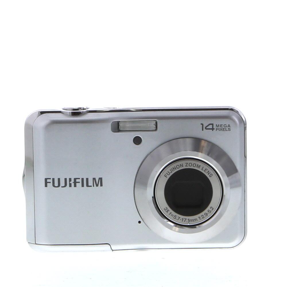 Fujifilm FinePix AV150 Digital Camera, Silver {14 M/P} (Requires 2/AA)