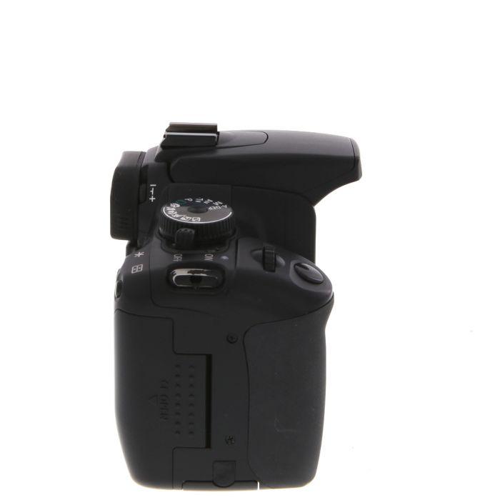 Canon EOS 400D (European Rebel XTI) DSLR Camera Body, Black {10.1MP}