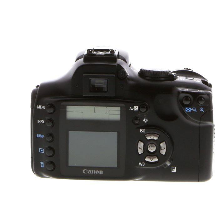 Canon EOS Rebel Black Digital SLR Camera Body {6.3 M/P}