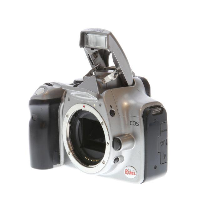 Canon EOS Rebel Digital SLR Camera Body, Silver {6.3MP}