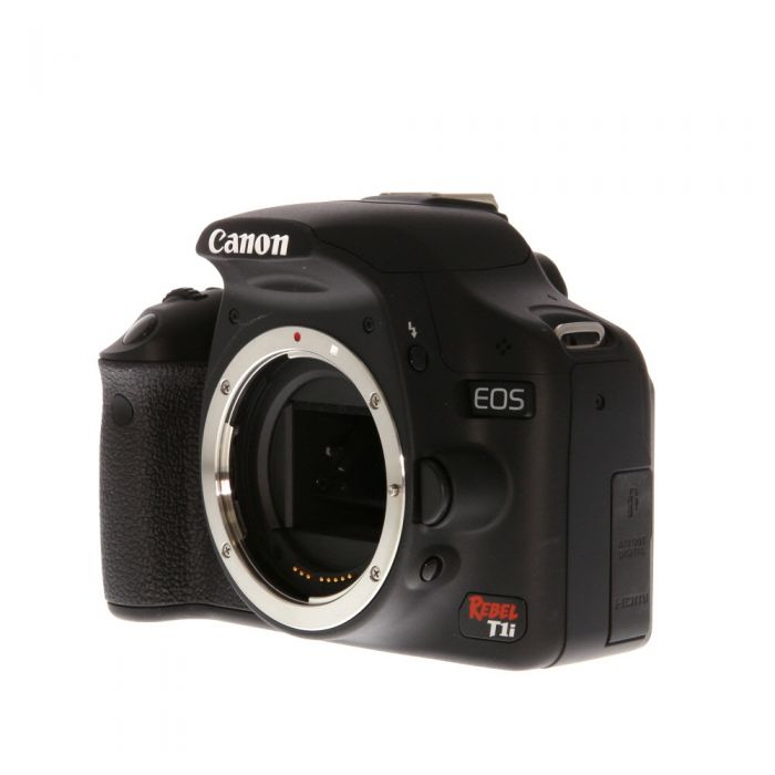 Canon EOS Rebel T1I DSLR Camera Body {15.1MP}