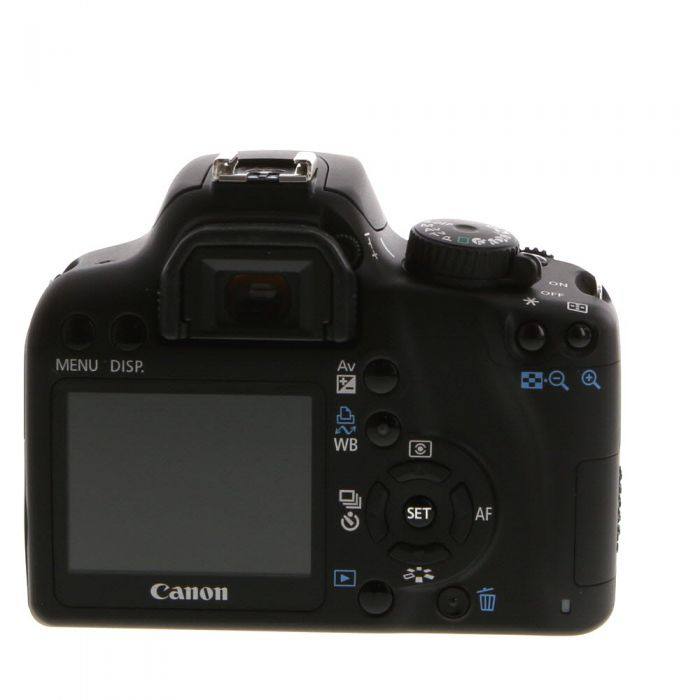 Canon EOS Rebel XS DSLR Camera Body, Black {10MP}