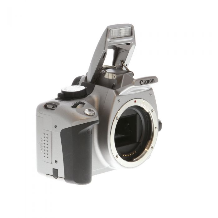 Canon EOS Rebel XT Silver Digital SLR Camera Body {8 M/P}