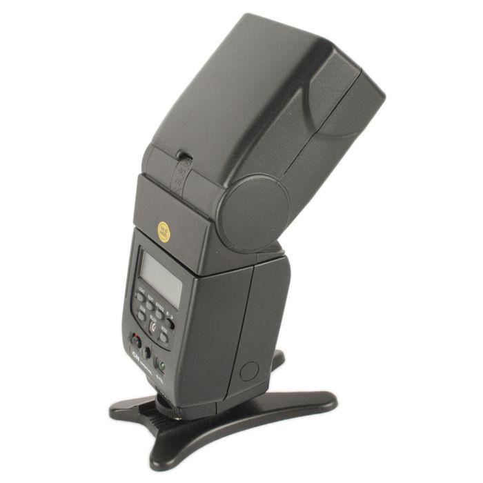 Quantaray QDC 900WA Flash For Canon EOS E-TTL [GN138] {Bounce, Swivel, Zoom}