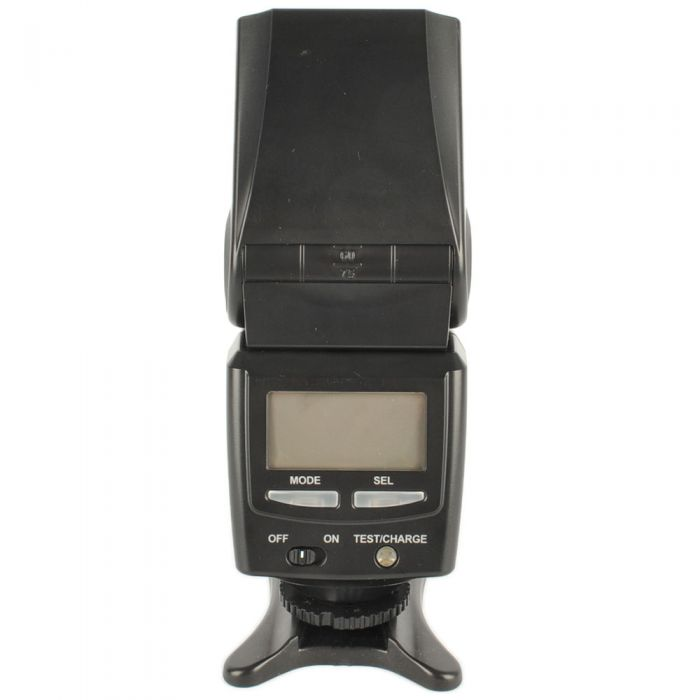 Sunpak PZ42X Flash For Canon EOS E-TTL II [GN138] {Bounce, Swivel, Zoom}