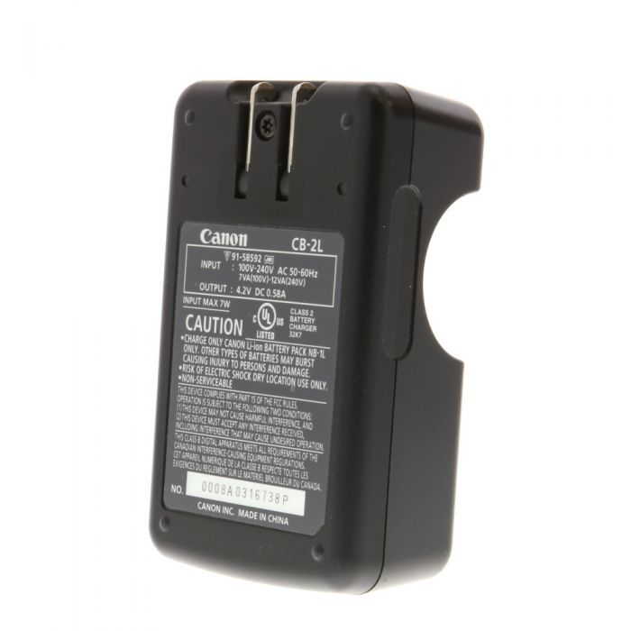 Canon Battery Charger CB-2L (N-1L,NB-1LH)