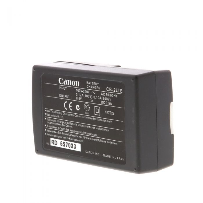 Canon Battery Charger CB-2LT (N) (S-Series NB-2L)