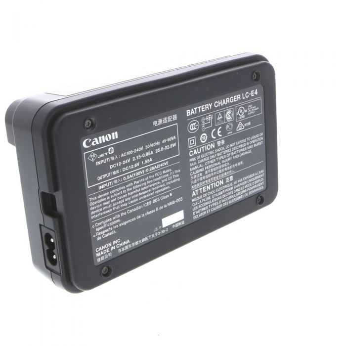 Canon Battery Charger LC-E4 (1D/1DS Mark III/IV)