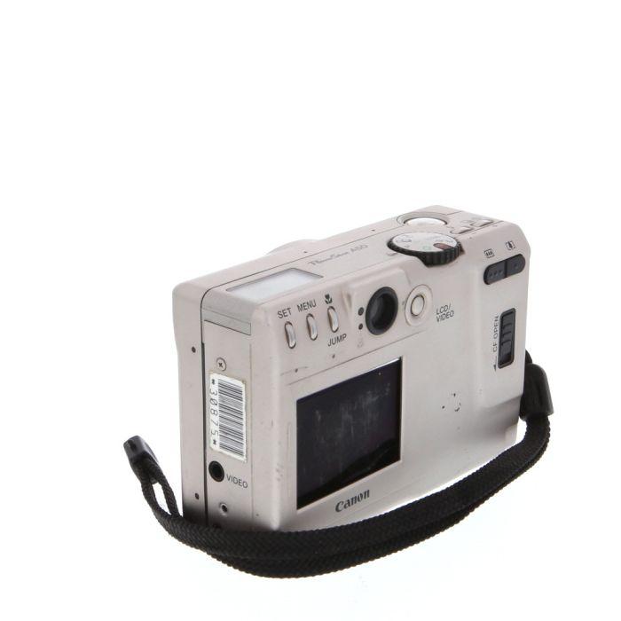 Canon Powershot A50 Digital Camera {1.3MP}