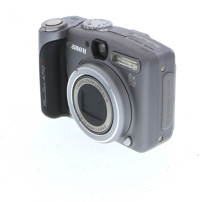 Canon Powershot A710 IS Digital Camera {7.10 M/P}