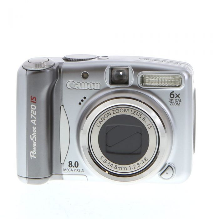 Canon Powershot A720 IS Digital Camera {8MP}
