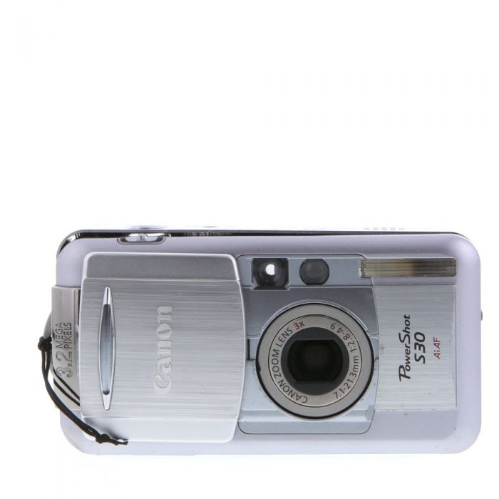 Canon Powershot S30 Digital Camera {3.2 M/P}