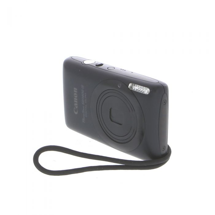 Canon Powershot SD1400 IS Black Digital Camera {14.1MP}