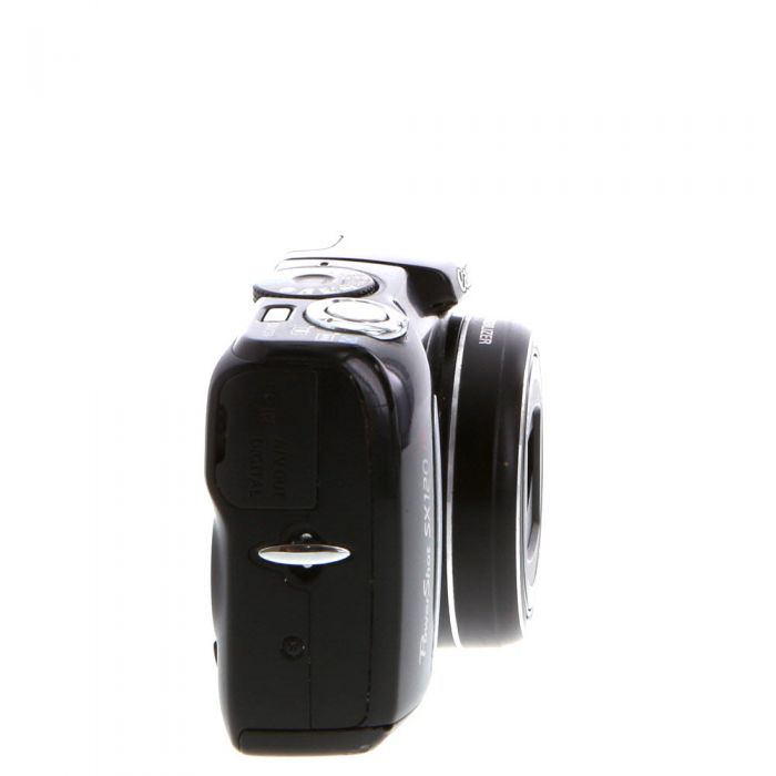 Canon Powershot SX120 IS Digital Camera, Black {10 M/P}