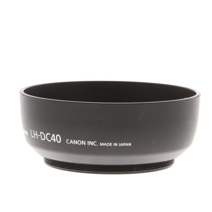 Canon LH-DC40 Lens Hood (for Powershot S2/3/5 IS) Requires LA-DC58E