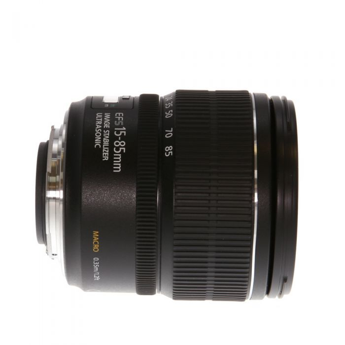 Canon EF-S 15-85mm f/3.5-5.6 IS USM Autofocus Lens for APS-C DSLR {72}