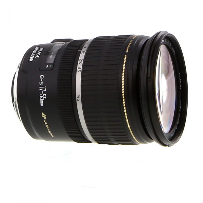 Canon EF-S 17-55mm f/2.8 IS USM Autofocus Lens for APS-C DSLR {77}