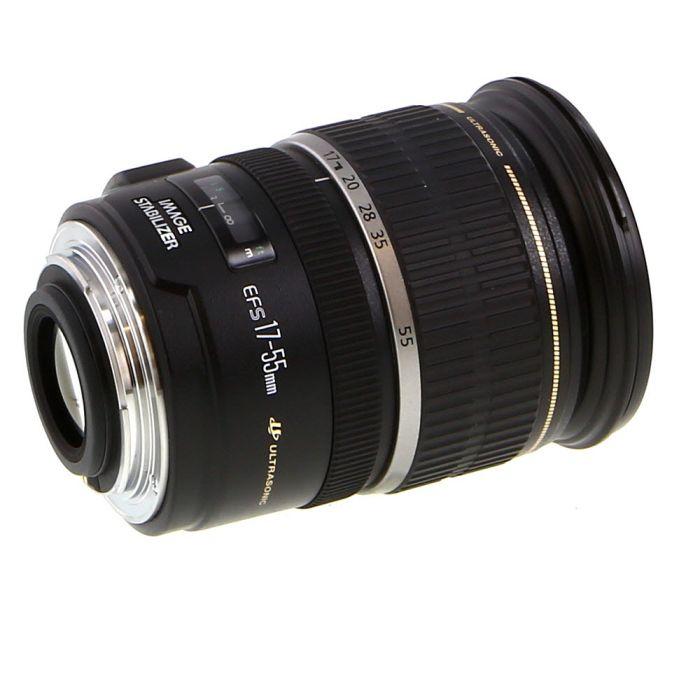 Canon EF-S 17-55mm f/2.8 IS USM Autofocus Lens for APS-C DSLR {77}
