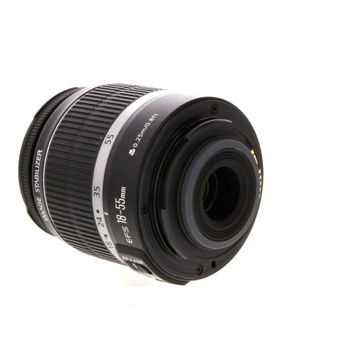 Canon EF-S 18-55mm f/3.5-5.6 IS Autofocus Lens for APS-C DSLRS {58}