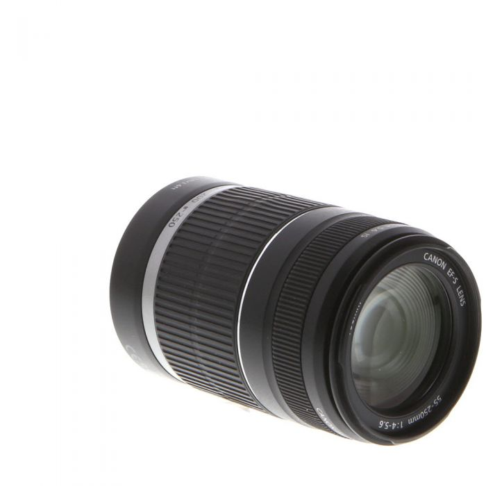 Canon EF-S 55-250mm f/4-5.6 IS Autofocus Lens for APS-C DSLR {58}