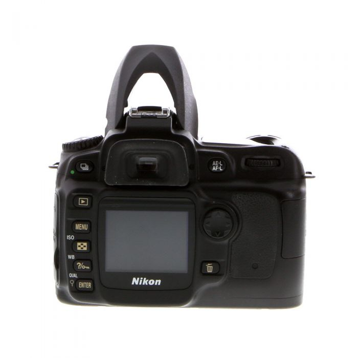 Nikon D50 DSLR Camera Body, Black {6.1MP}