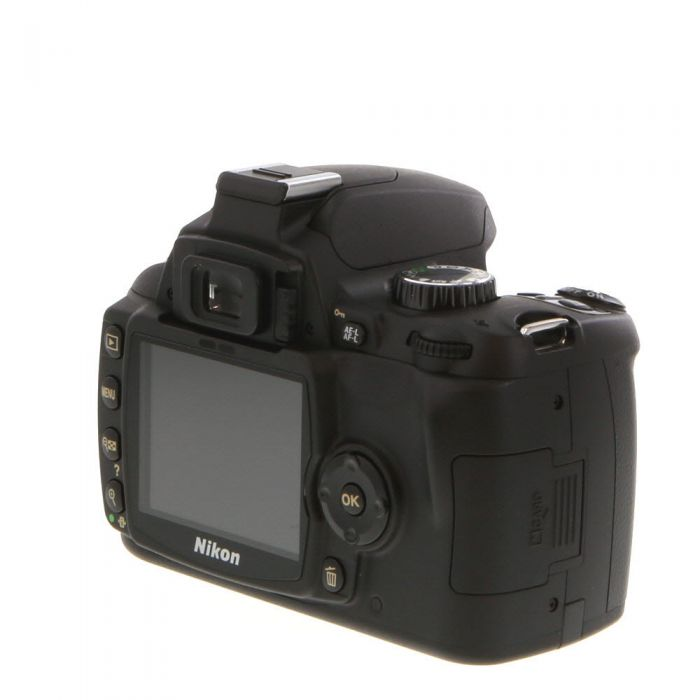 Nikon D60 DSLR Camera Body {10.2MP}