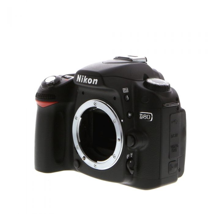 Nikon D80 DSLR Camera Body {10.2MP}
