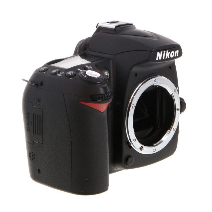 Nikon D90 DSLR Camera Body {12.3MP}