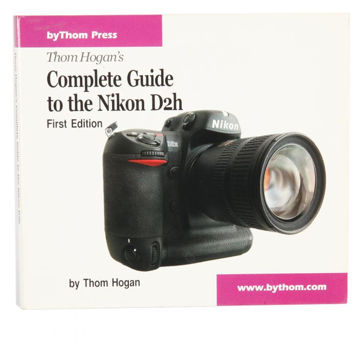 D2H Complete Guide,1ST ED, Thom Hogan, CD