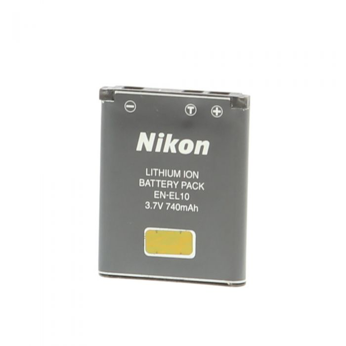 Nikon EN-EL10 Li-Ion Battery (S600/S520/S210)