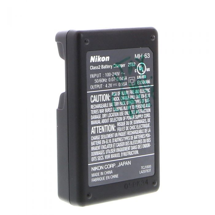 Nikon MH-63 Battery Charger (EN-EL10)