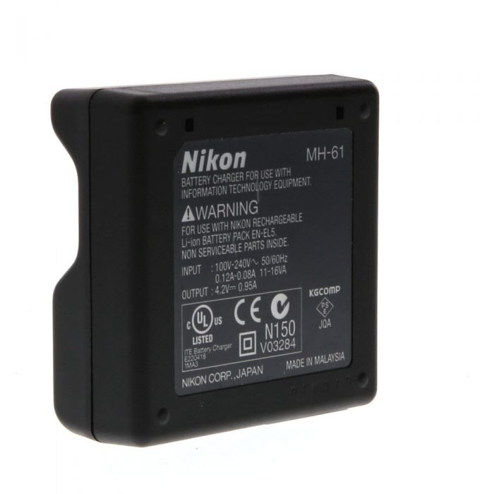 Nikon MH-61 Battery Charger (EN-EL5)