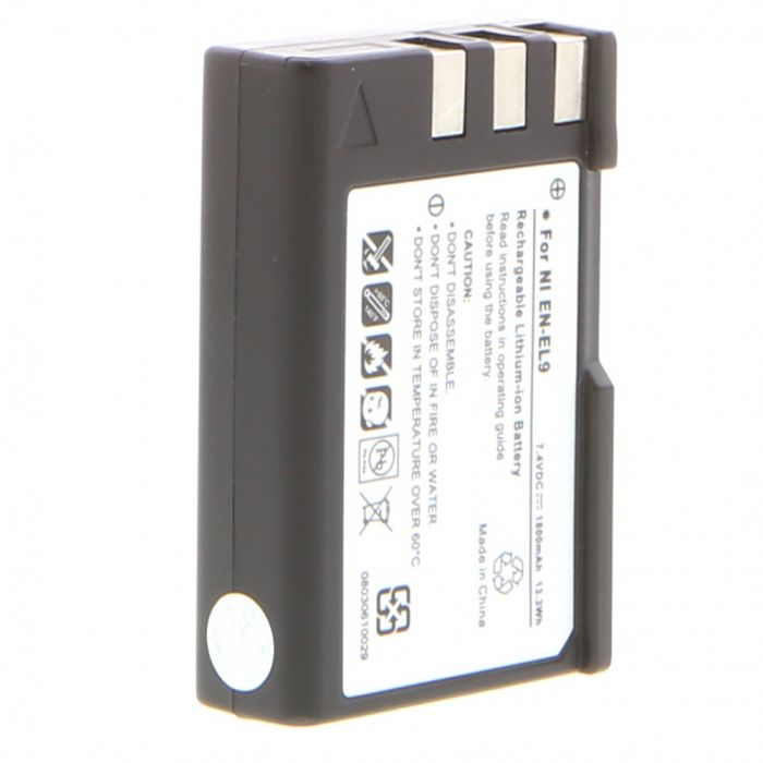 EN-EL9 Li-Ion Battery (for Nikon D40/D40X) Miscellaneous Brand