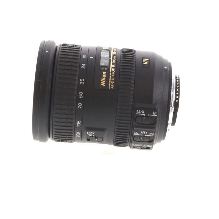 Nikon AF-S DX Nikkor 18-200mm f/3.5-5.6 G ED IF VR II Autofocus Lens for APS-C Sensor DSLR, Black {72}
