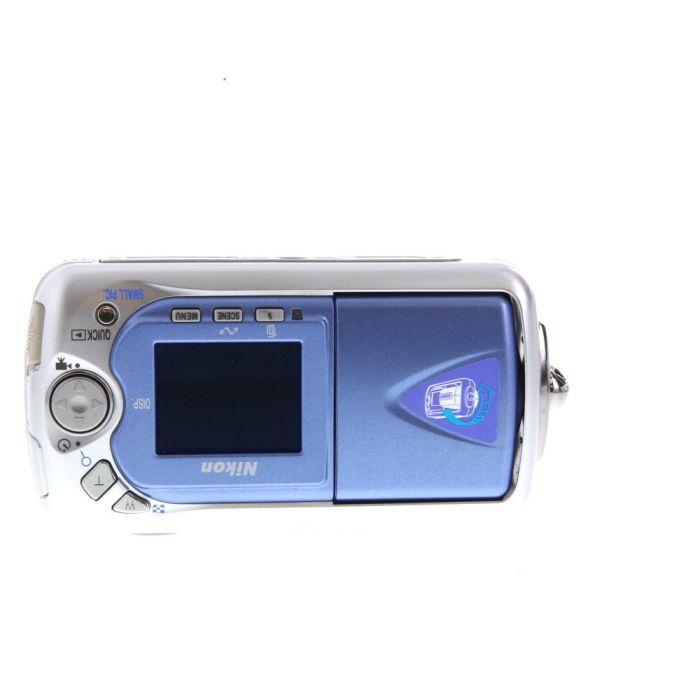 Nikon Coolpix 2500 Digital Camera, Black {2MP}