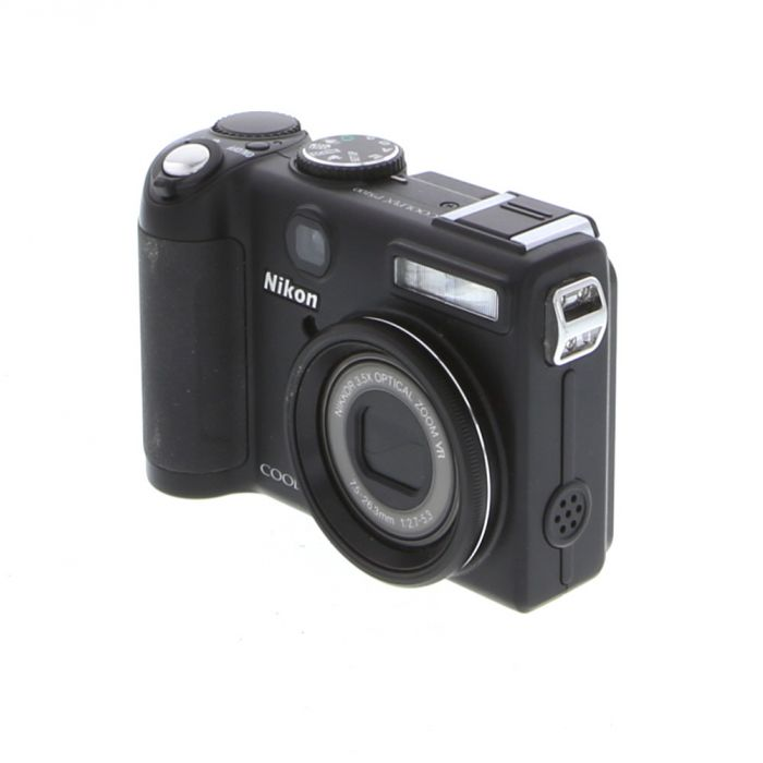 Nikon Coolpix P5100 Digital Camera, Black {12MP}