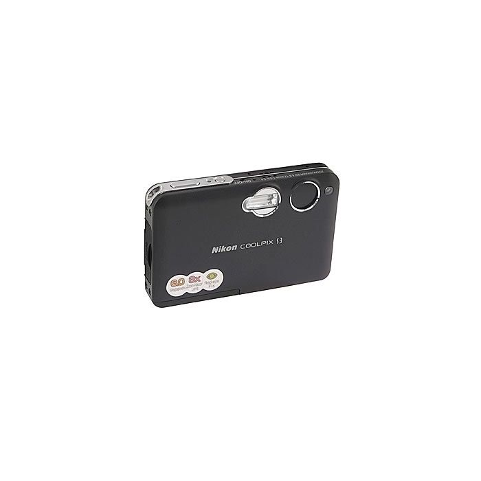 Nikon Coolpix S3 Digital Camera, Black {6.0MP}