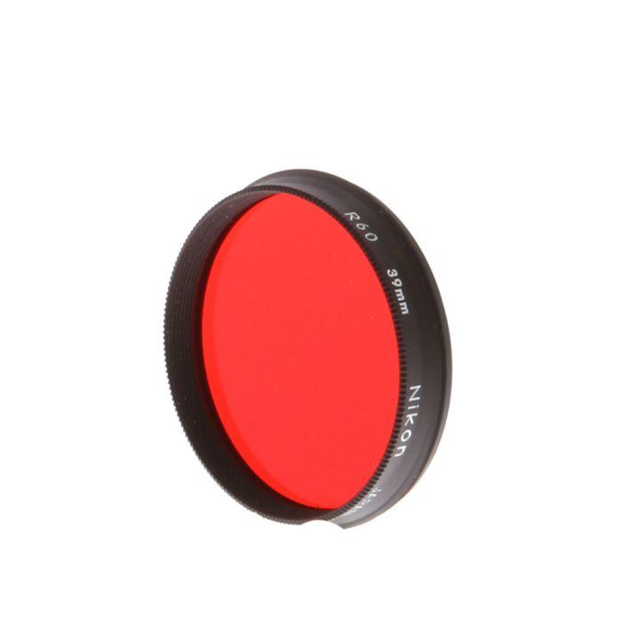 Nikon 39mm R60 (Red) Filter