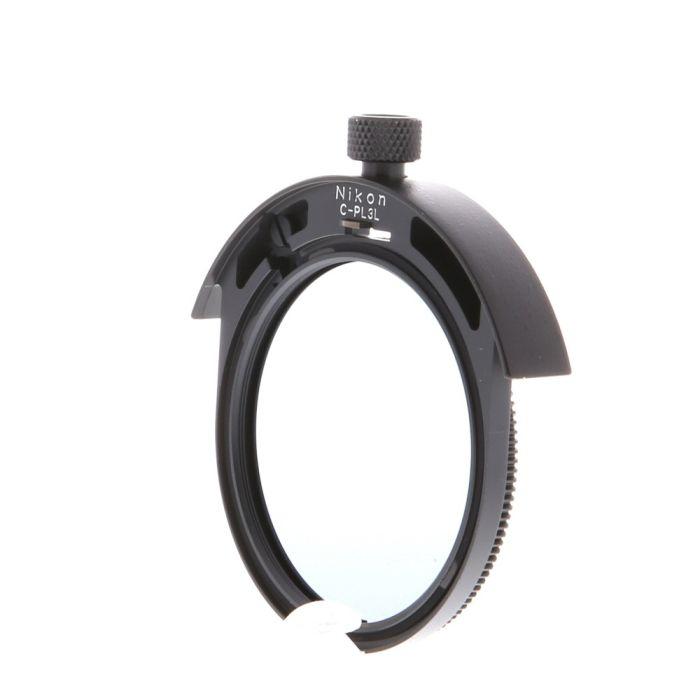 Nikon 52mm Circular Polarizing Drop-In C-PL3L Filter