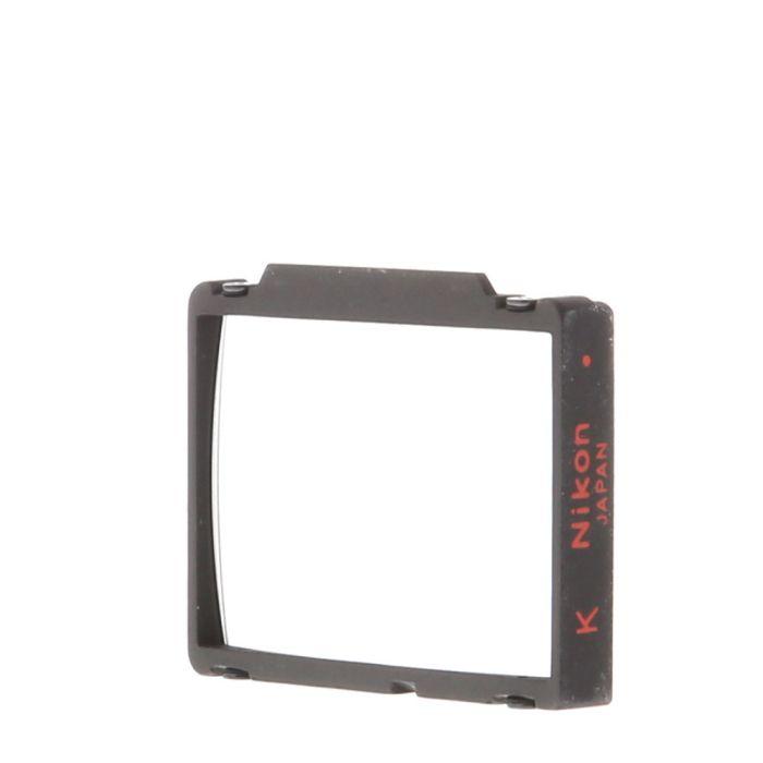 Nikon K Matte Fresnel Split Image Rangefinder Microprism Focusing Screen For Nikon F3