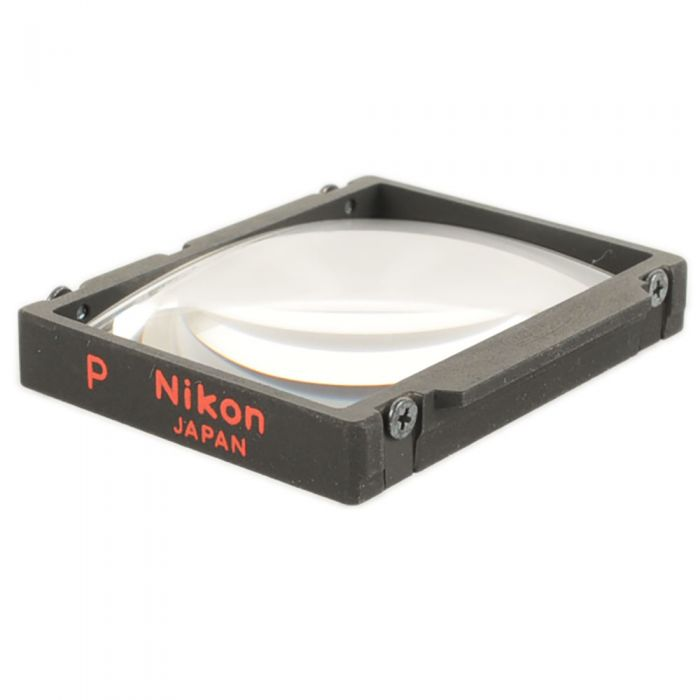 Nikon P Matte Fresnel With Split Image Microprism, Grid Focusing Screen For Nikon F3