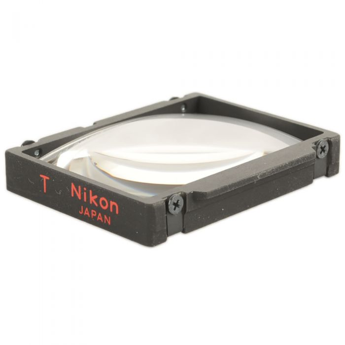 Nikon T Matte Fresnel Field With T.V. Screen Frame Lines Focusing Screen For Nikon F3