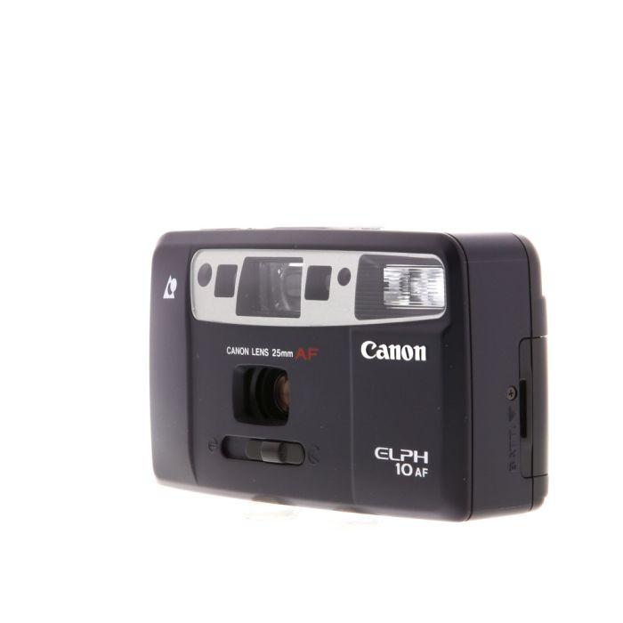 Canon ELPH 10AF APS Camera, Black