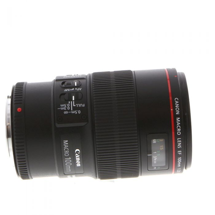 Canon 100mm f/2.8 L Macro IS USM EF-Mount Lens {67}