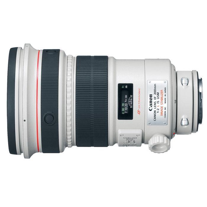 Canon 200mm f/2 L IS USM EF-Mount Lens {Gel}
