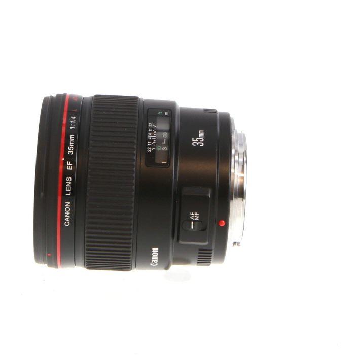 Canon 35mm f/1.4 L USM EF-Mount Lens {72}